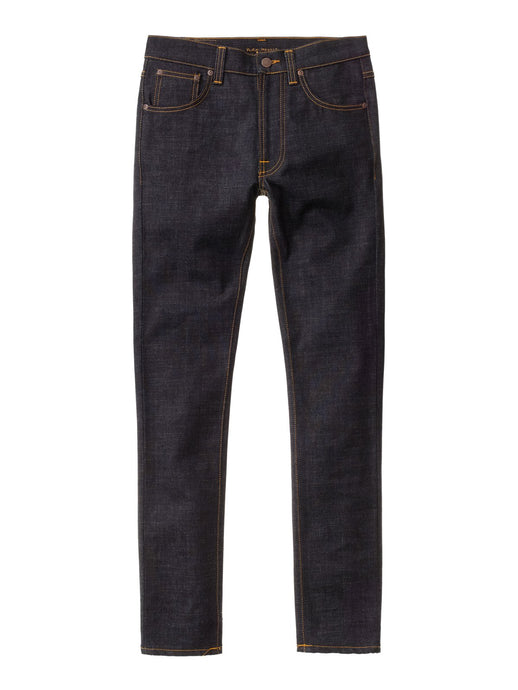 NUDIE JEANS Lean Dean Slim Tapered Dry Slow Dark