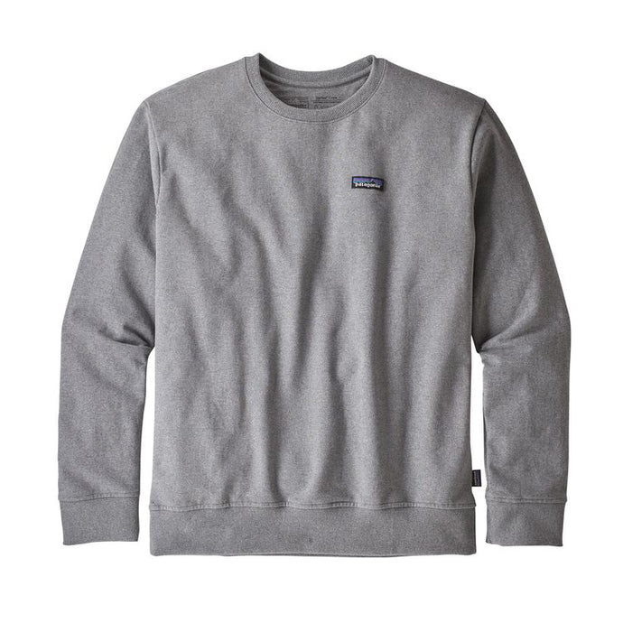 Patagonia Men's P-6 Label Uprisal Crew Sweatshirt - Gravel Heather
