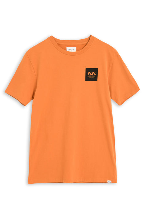 Wood Wood WW Box T- shirt - Dark Orange