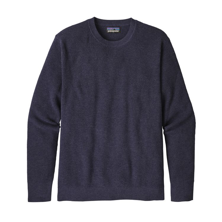 Patagonia Men's Long-Sleeved Yewcrag Crew -Classic Navy