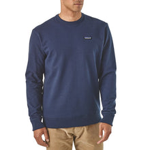 Load image into Gallery viewer, Patagonia Men's P-6 Label Uprisal Crew Sweatshirt - Navy