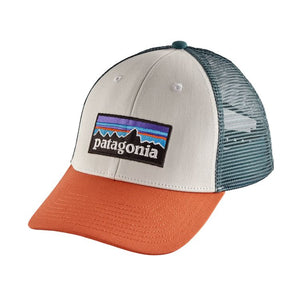 Patagonia LoPro Trucker Hat - White w/Sunset Orange