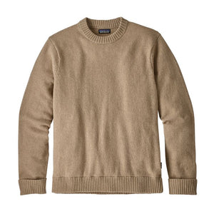 Patagonia Men's Recycled Wool Sweater - El Cap Khaki