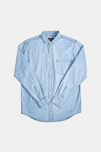 NEUW Waits Denim Shirt - Washed Indigo