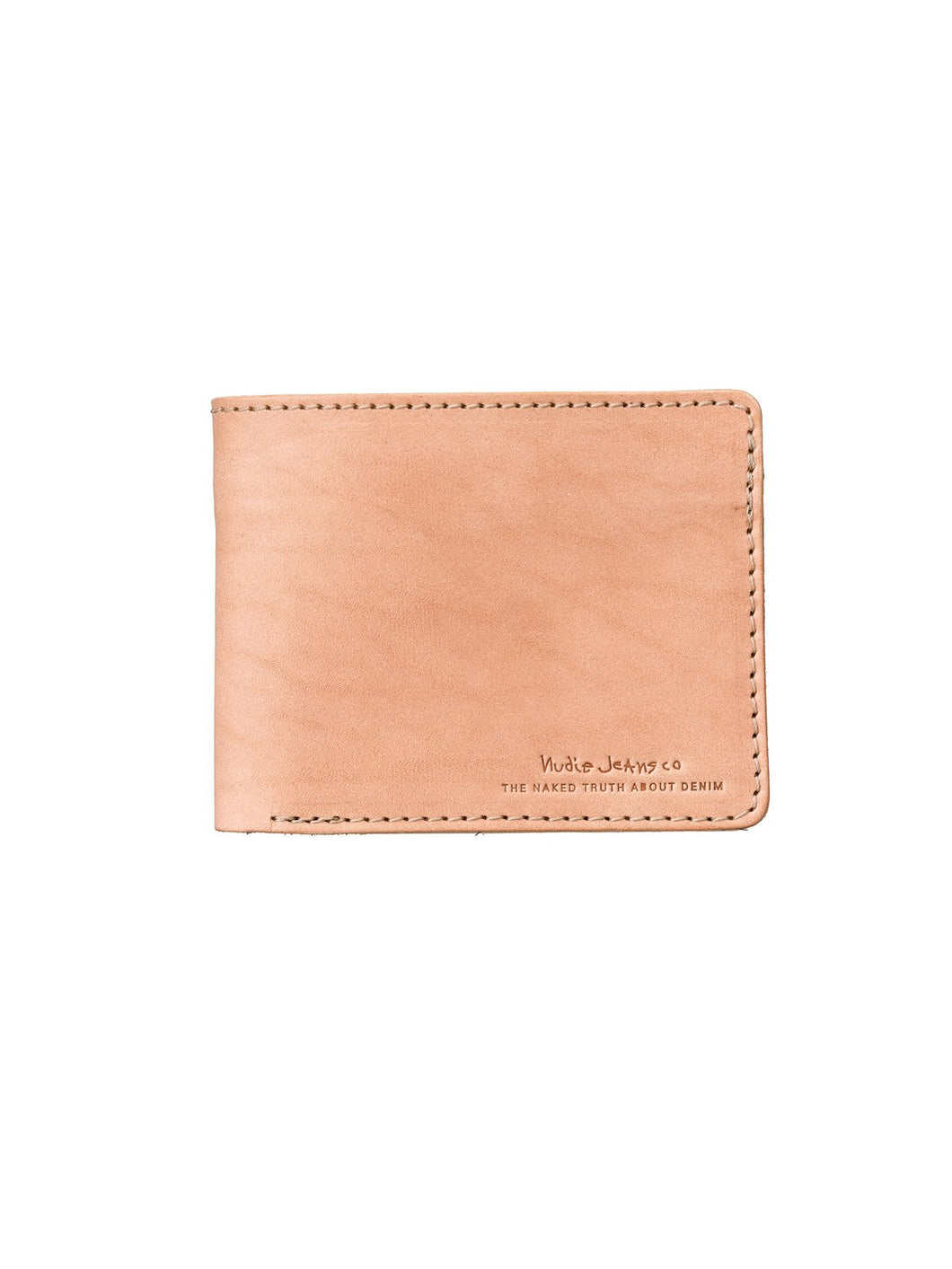 NUDIE JEANS CALLESSON LEATHER WALLET -Natural