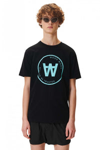 Wood Wood AA Seal T- shirt - Black