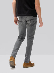 NUDIE JEANS TIGHT TERRY Mid Grey Pwr
