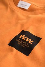 Load image into Gallery viewer, Wood Wood WW Box T- shirt - Dark Orange