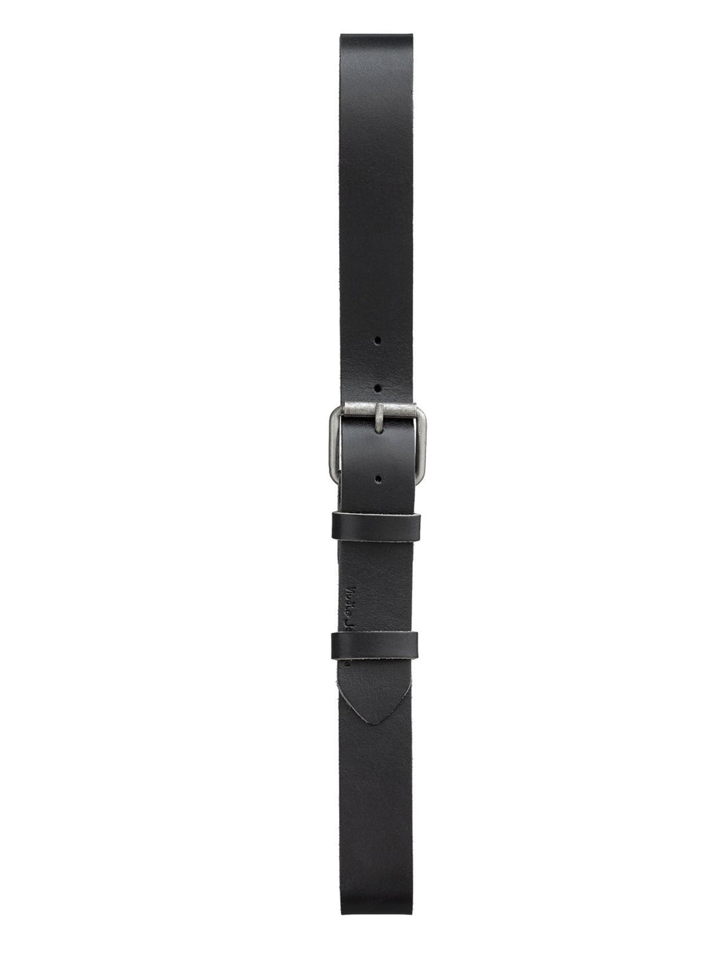 NUDIE JEANS Pedersson LEATHER BELT- Black