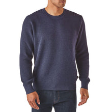 Load image into Gallery viewer, Patagonia Men's Long-Sleeved Yewcrag Crew -Classic Navy