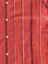 Load image into Gallery viewer, NUDIE JEANS Madras Stripe shirt -Aurora Red