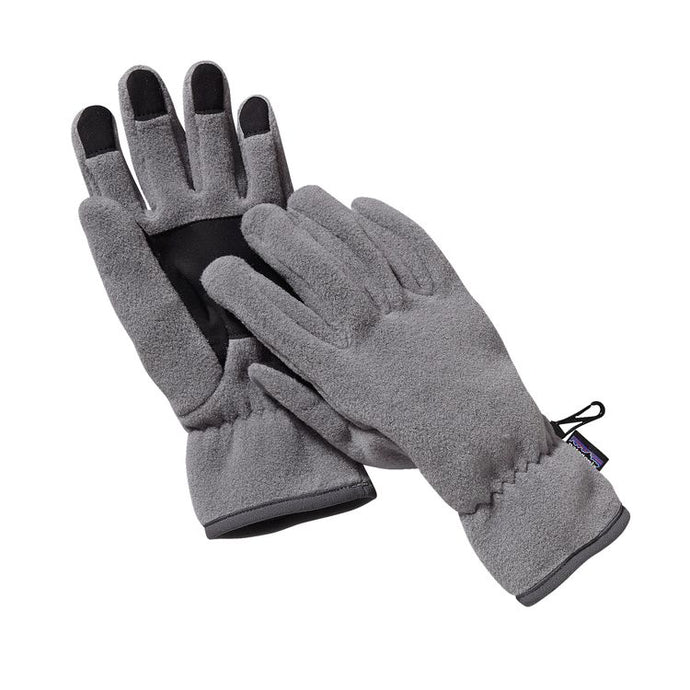 Patagonia Synchilla® Fleece Gloves - Nickel grey