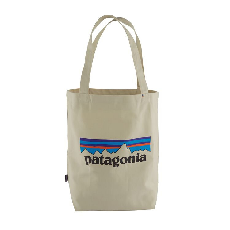 PATAGONIA Market Tote -  Logo Bleached Stone