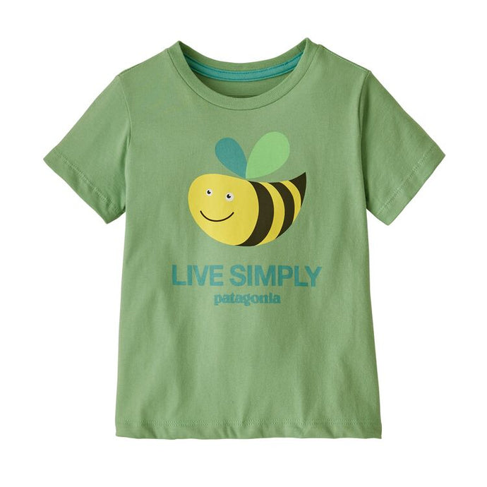 Patagonia Baby Live Simply® Organic Cotton T-Shirt - Thistle Green