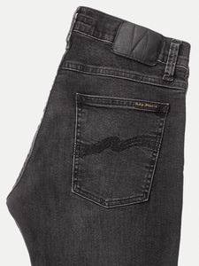 NUDIE JEANS TIGHT TERRY - Black Treats