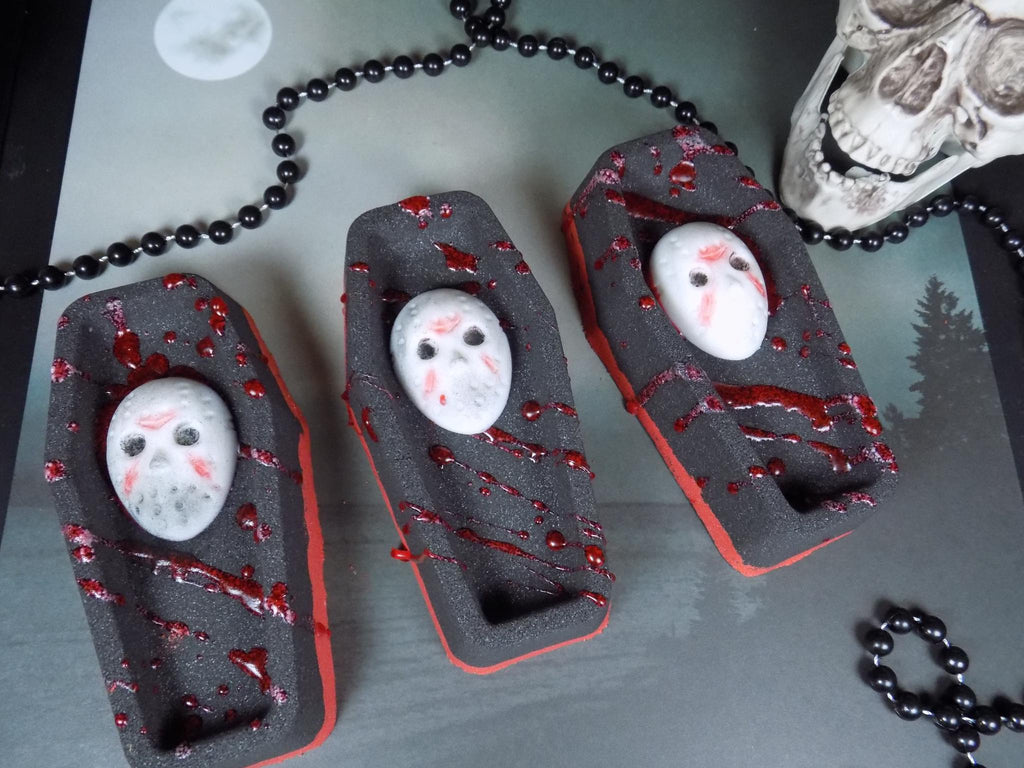 Jason Rises Coffin Bath Bomb