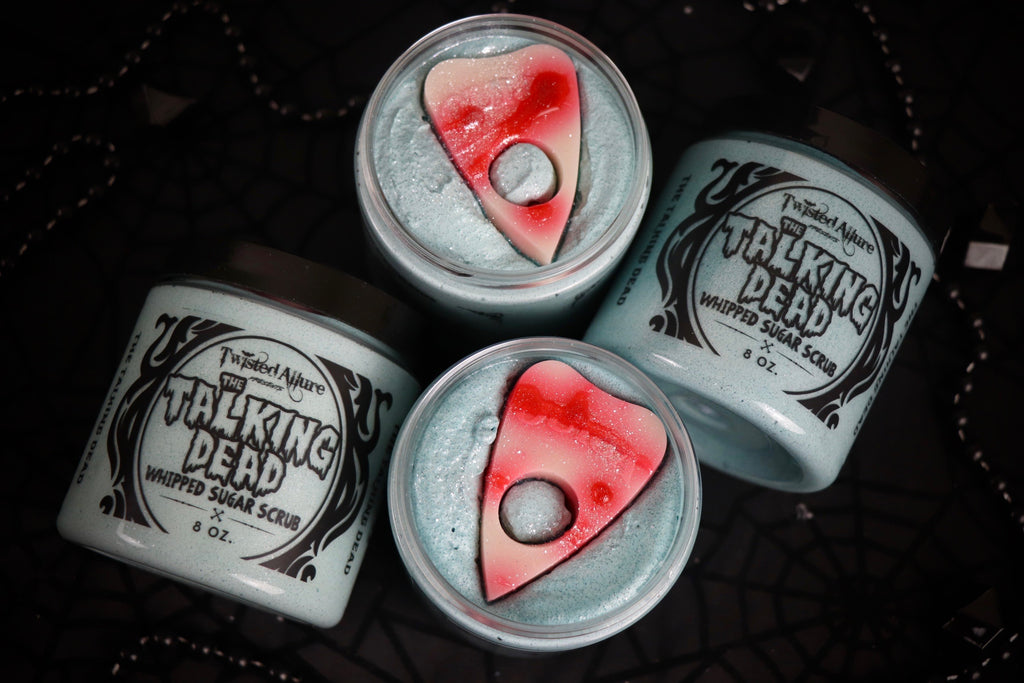 The Talking Dead Whipped Sugar Scrub