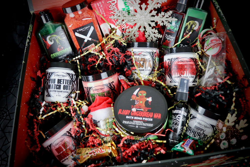 Huge Black Santa Box