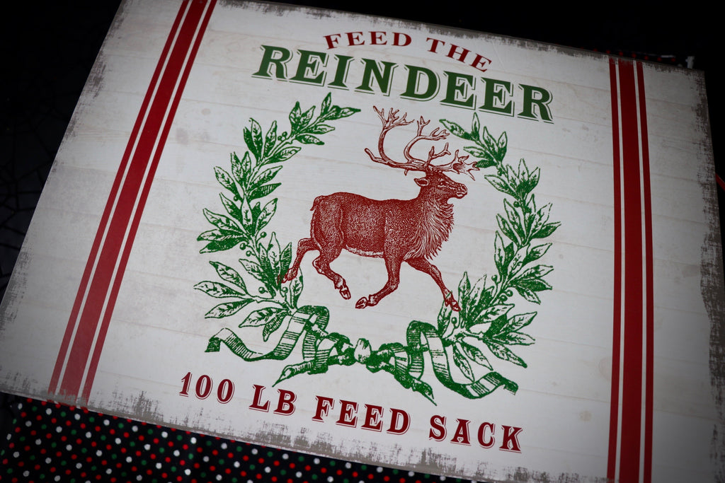 Large Feed the Reindeer Box