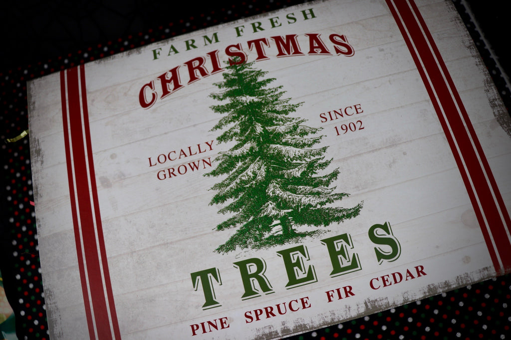 Medium Farm Fresh Christmas Tree Box