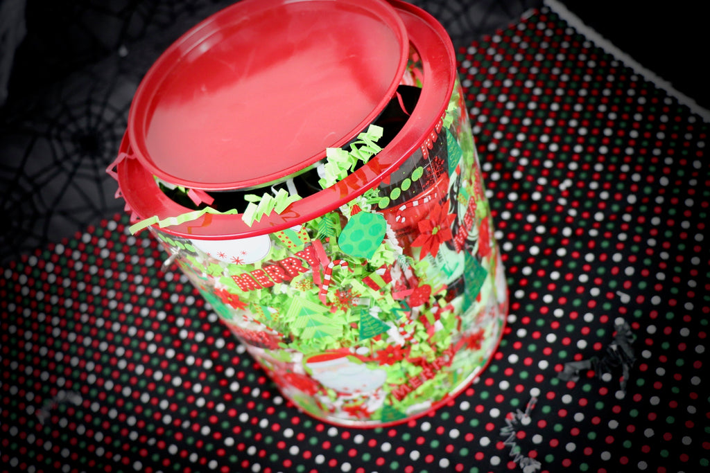 Big Red and Green Cylinder