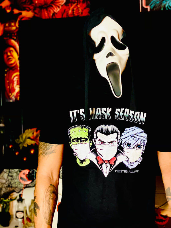 Mens Mask Season T-Shirt