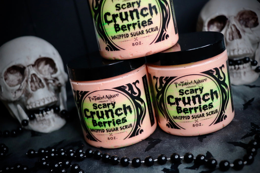 Scary Crunch Berries Whipped Sugar Scrub