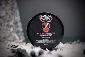 Death By Reindeer Body Butter 2 oz