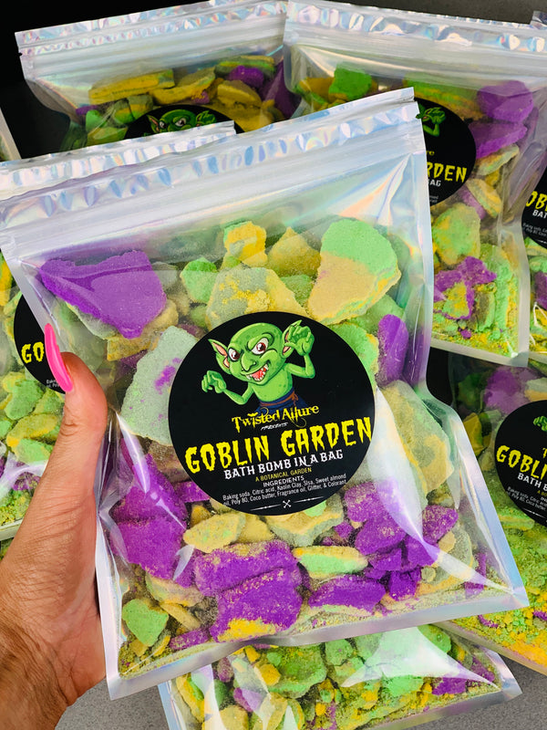Goblin Garden  Bath Bomb in a Bag