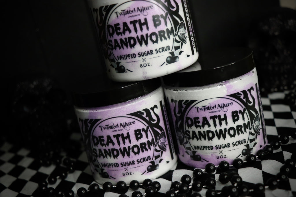 Death by Sandworm  Sugar Scrub