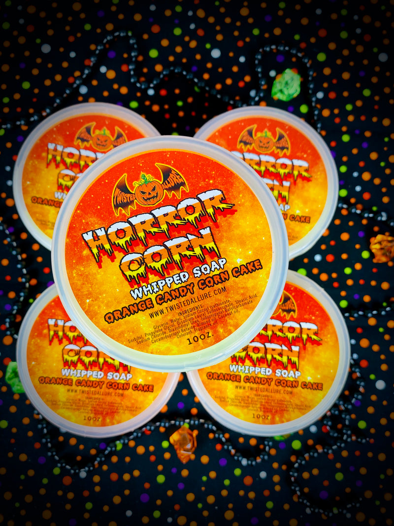 Horror Corn  Whipped Soap