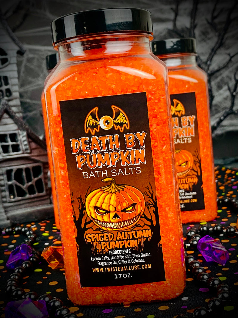 Death By Pumpkin Bath Salts