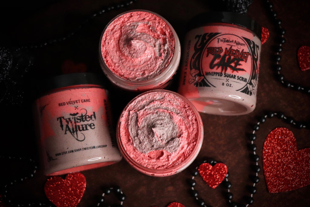 Red Velvet Cake Whipped Sugar Scrub