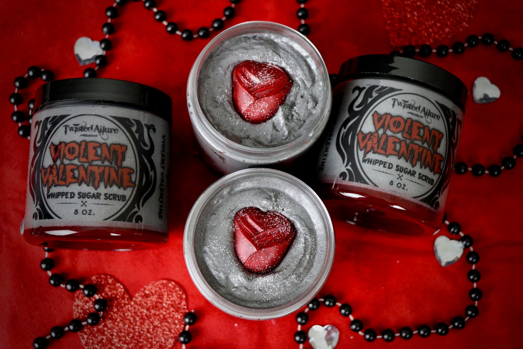 Violent Valentine Whipped Sugar Scrub