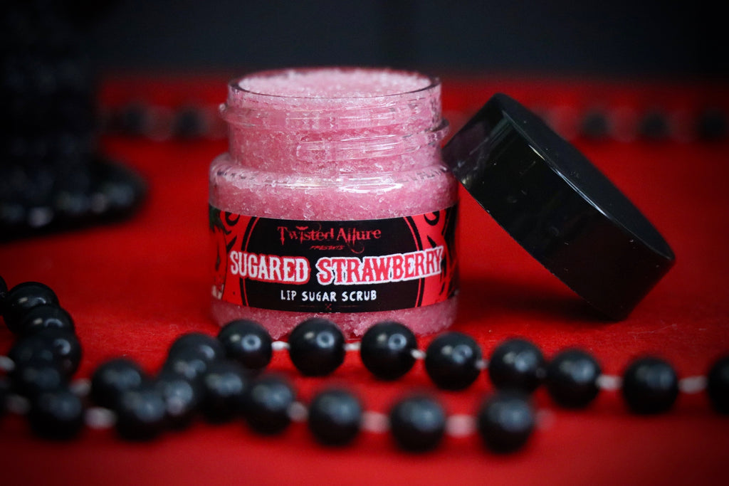 Sugared Strawberries  Lip Scrub