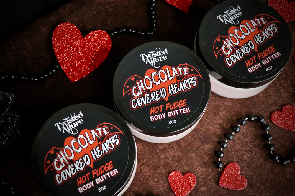 Chocolate Covered Hearts Body Butter 8oz