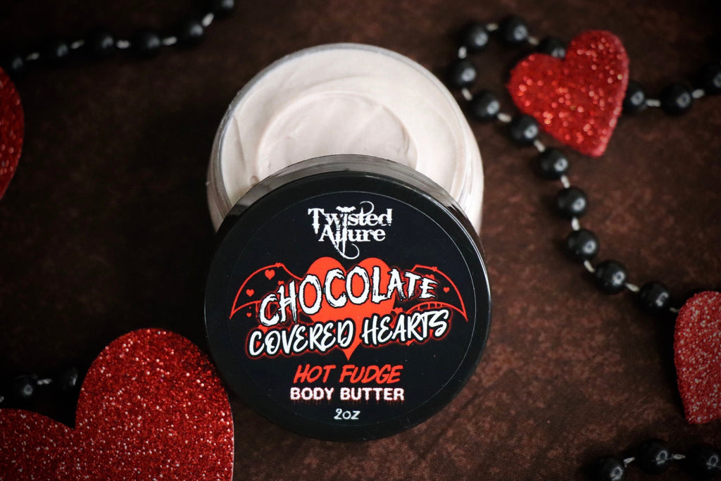 Chocolate Covered Hearts Body Butter 2 oz