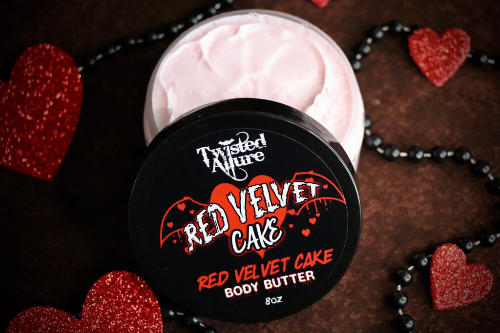 Red Velvet Cake Body Butter 8oz