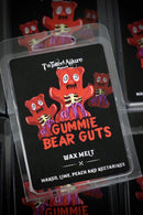 Gummie Bear Guts  Wax Clam Shell