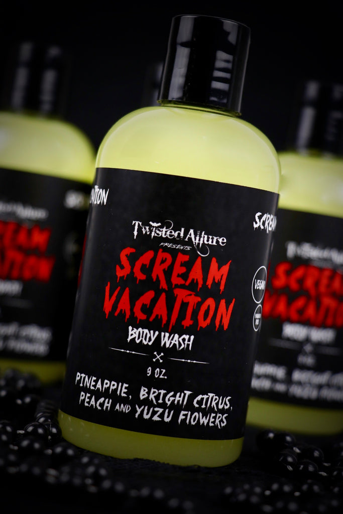 Scream Vacation Body Wash
