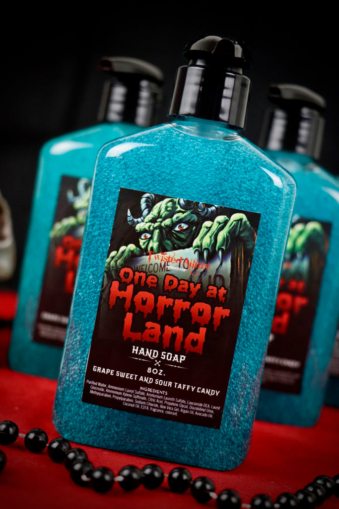 One Day At Horrorland Hand Soap