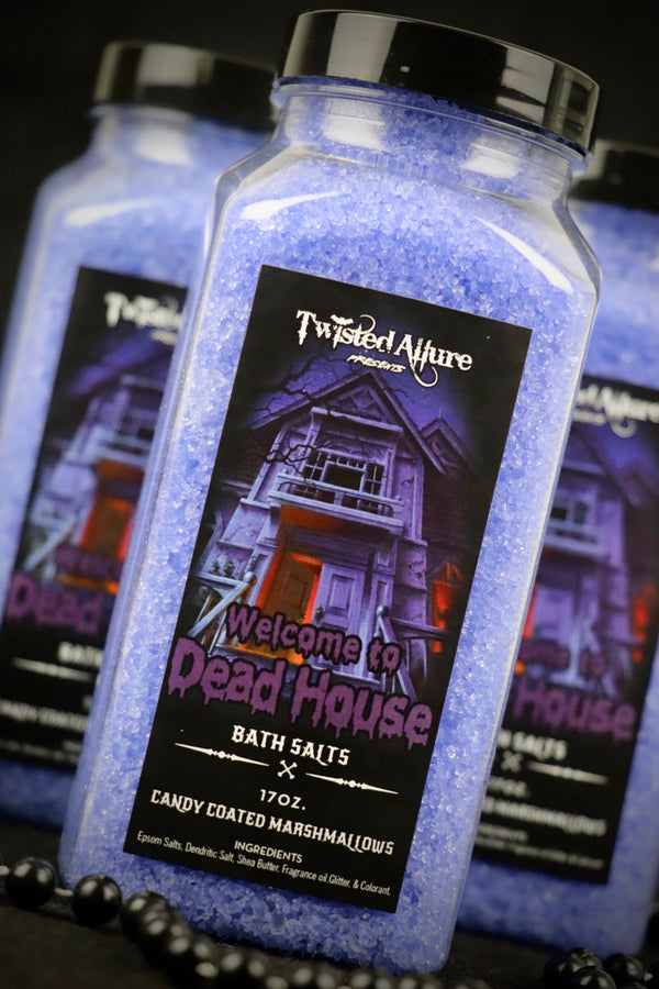 Welcome to Dead House Bath Salts