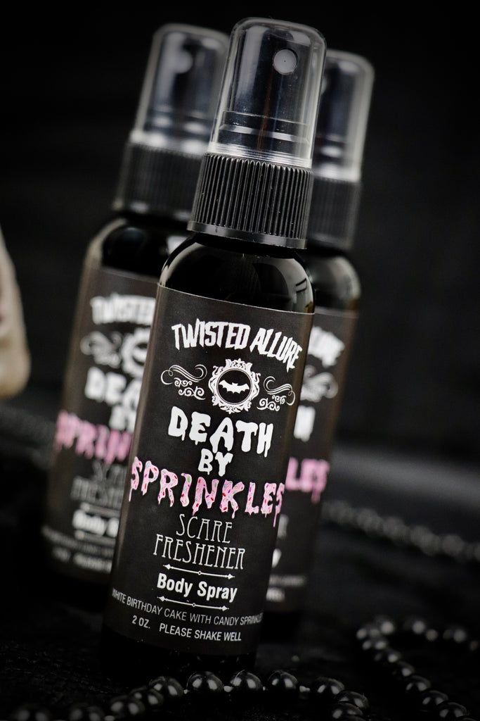Death By Sprinkles Body Spray
