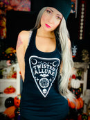 Black and White Planchette Tank Top