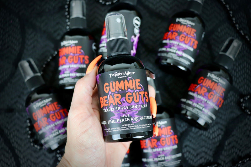 Gummie Bear Guts Travel Spray Sanitizer
