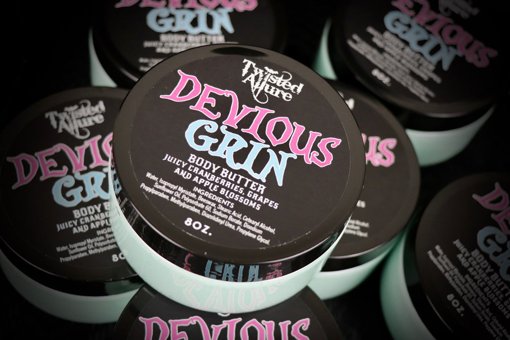 Devious Grin Body Butter 8oz