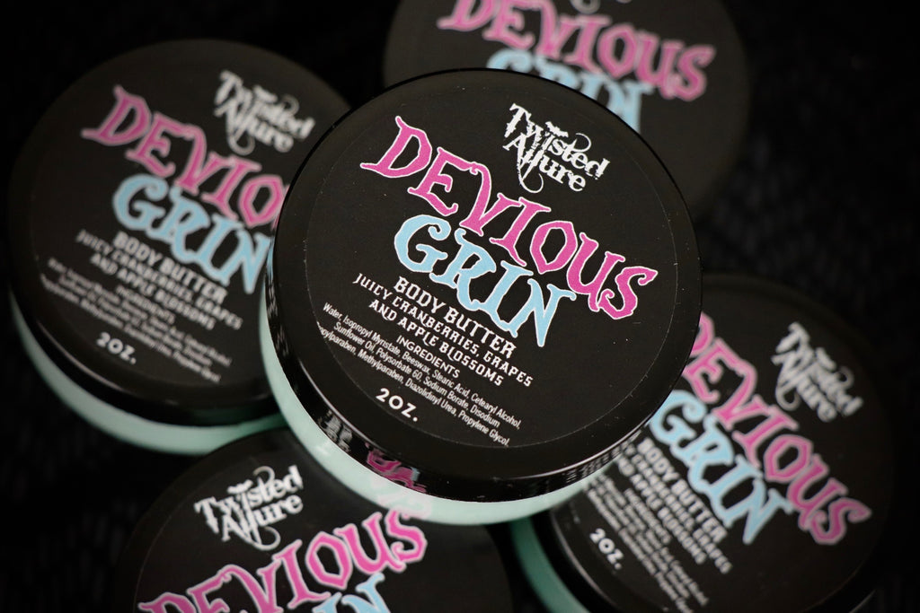 Devious Grin  Body Butter 2 oz