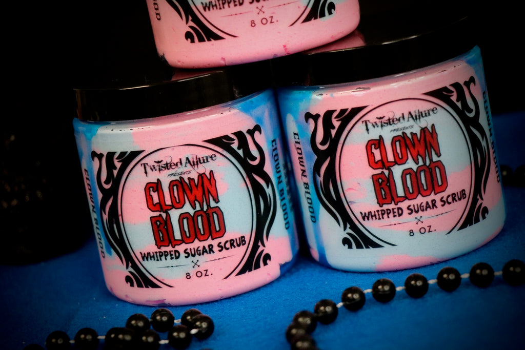 Clown Blood Whipped Sugar Scrub