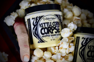 Load image into Gallery viewer, Kettle Corn Corpse Whipped Sugar Scrub