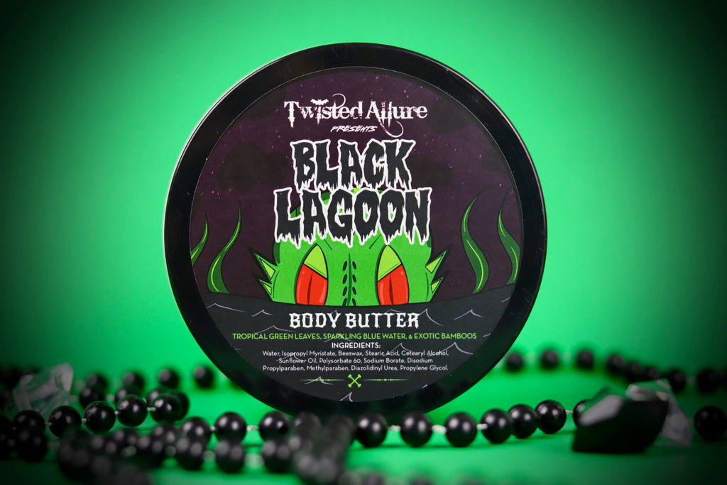 Black Lagoon Body Butter 8oz